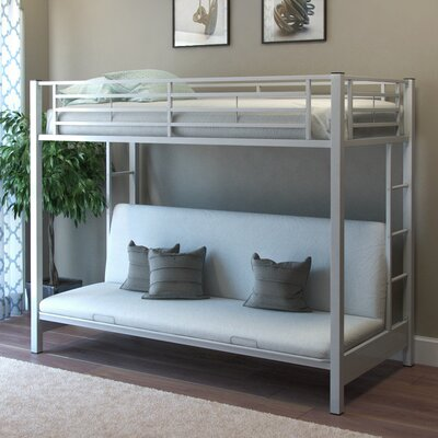 Zelen Twin Futon Bunk Bed