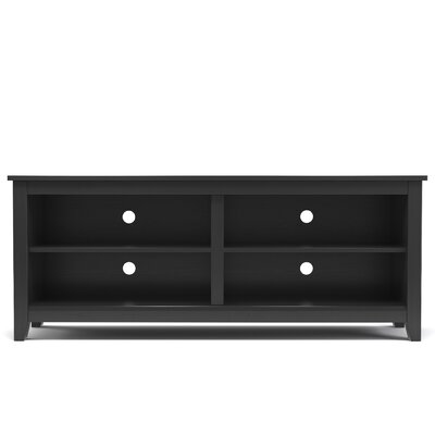 Mission TV Stand Finish: Black