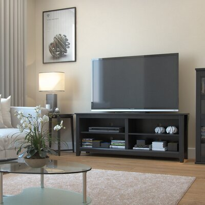 Chantell 58 TV Stand Color: Black