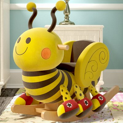 Gibson Living Thomas the Bee Kids' Rocker with Music