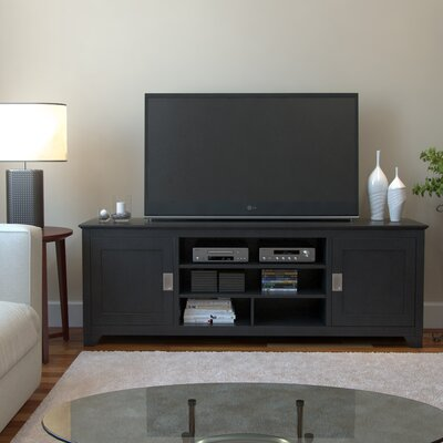 Vankirk 70 TV Stand Color: Matte Black