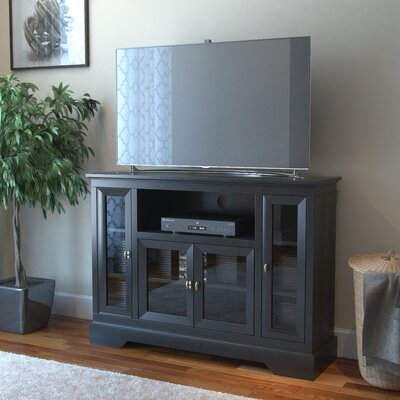 Johnsonville TV Stand Finish: Matte Black