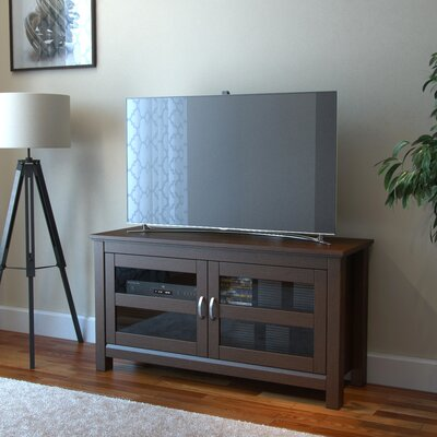 Jeffreys 44 TV Stand Color: Brown