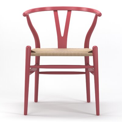 Timber Side Chair Finish: Pink