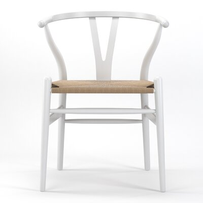 Timber Side Chair Finish: White