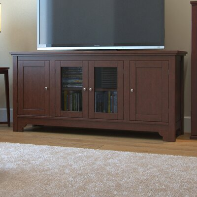 Johnston 52 TV Stand Color: Walnut Brown