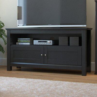 Byrne 44 TV Stand Color: Black