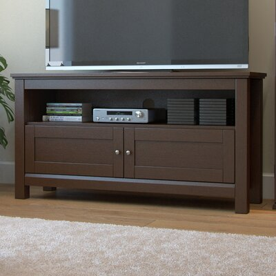 Byrne 44 TV Stand Color: Brown