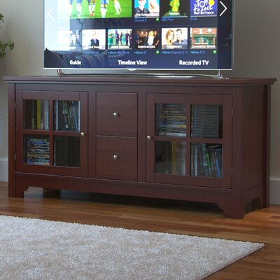 Johannsen 52 TV Stand Color: Walnut Brown
