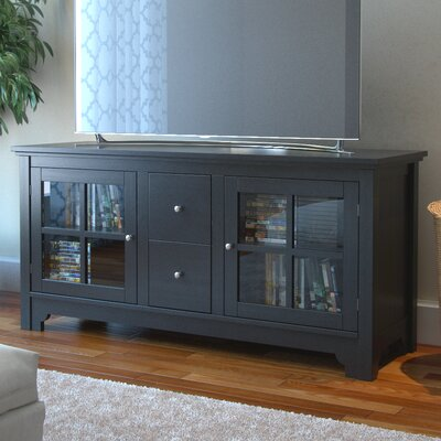 Johannsen TV Stand Finish: Matte Black