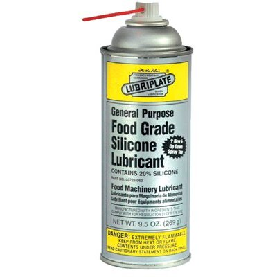 Lubriplate -General Purpose Food Grade Silicone Lubricants 9.5 Oz. General Purposefood Grade Silicone Areo:293-L0723-063 -9.5 oz. general p at Sears.com