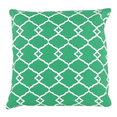 Trellis Print 100% Cotton Pillow Cover
