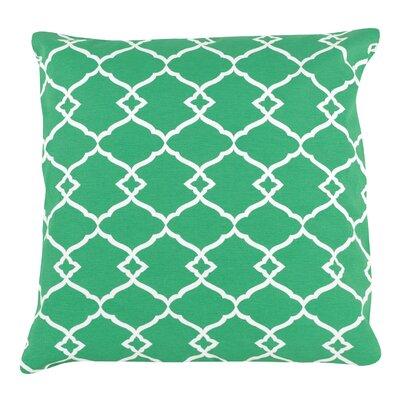 Trellis Print 100% Cotton Pillow Cover