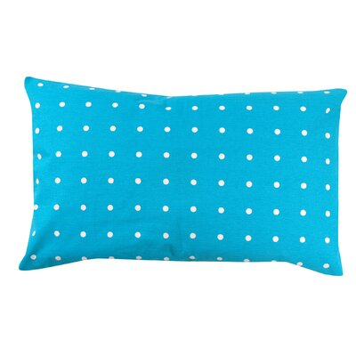 Dot 100% Cotton Pillow Cover Color: Turquoise