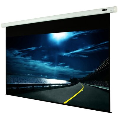 White Manual Projection Screen Viewing Area: 92 Diagonal (45 x 80)