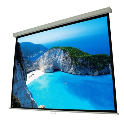 Manual Projection Screen Viewing Area: 120 Diagonal (72 x 96)
