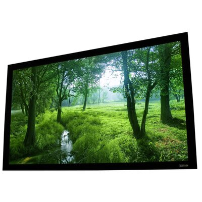 Cinema White Fixed Frame Projection Screen Viewing Area: 92 Diagonal (45 x 80)