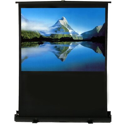 White Portable Projection Screen Viewing Area: 80 Diagonal (48 x 64)