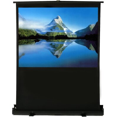 White 80 diagonal Portable Projection Screen