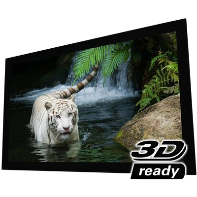 White 125 diagonal Fixed Frame Projection Screen