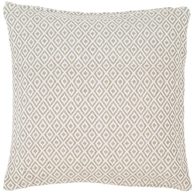 Crystal Outdoor Throw Pillow Color: Platinum