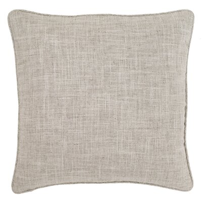 Graylock Indoor/Outdoor Throw Pillow Color: Grey