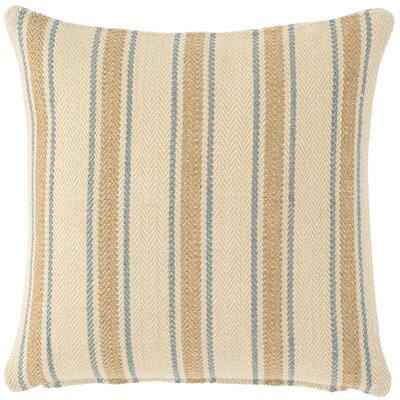 Cambridge Indoor/Outdoor Throw Pillow Color: Swedish Blue