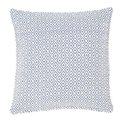 Crystal Outdoor Throw Pillow Color: Denim