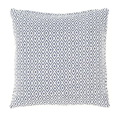 Crystal Outdoor Throw Pillow Color: Navy