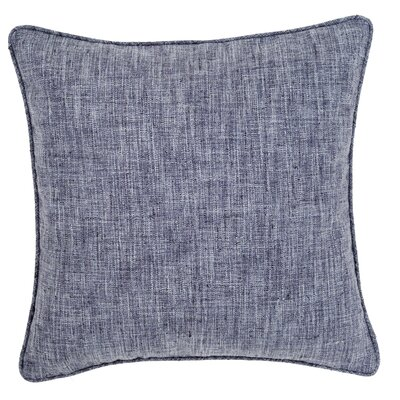 Graylock Outdoor Throw Pillow Color: Navy