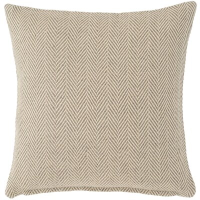 Concord Outdoor Throw Pillow Color: Grey
