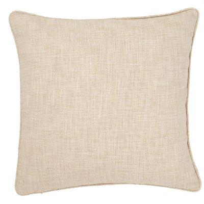 Graylock Indoor/Outdoor Throw Pillow Color: Ivory