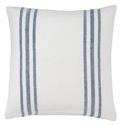 Lexington Outdoor Throw Pillow Color: White / Navy