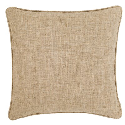 Graylock Indoor/Outdoor Throw Pillow Color: Natural