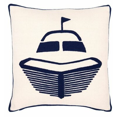 Boat Indoor/Outdoor Throw Pillow