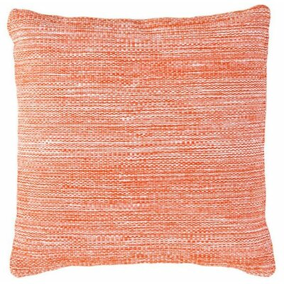 Mingled Indoor/Outdoor Throw Pillow Color: Tangerine