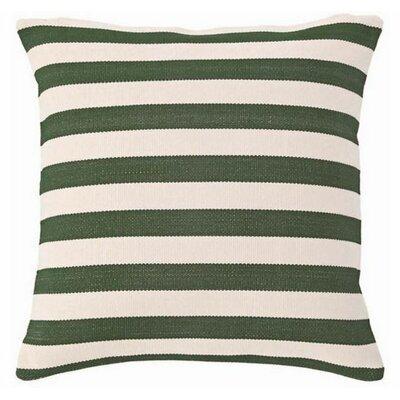 Trimaran Indoor/Outdoor Throw Pillow Color: Pine / Ivory