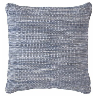 Mingled Outdoor Throw Pillow Color: Denim