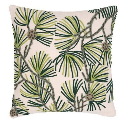 Pine Needles Outdoor Throw Pillow