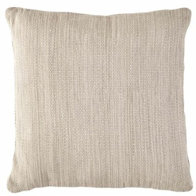 Mingled Outdoor Throw Pillow Color: Platinum