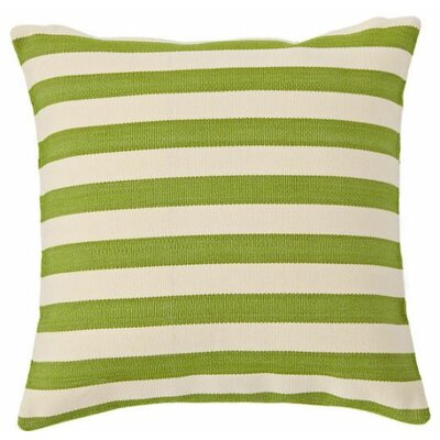 Trimaran Indoor/Outdoor Throw Pillow Color: Sprout / Ivory