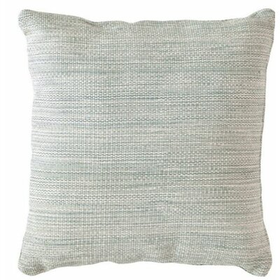 Mingled Outdoor Throw Pillow Color: Light Blue