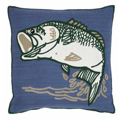 Bass Indoor/Outdoor Throw Pillow