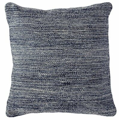 Mingled Outdoor Throw Pillow Color: Navy