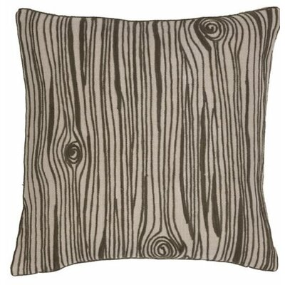 Wood Grain Indoor/Outdoor Throw Pillow
