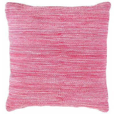 Mingled Indoor/Outdoor Throw Pillow Color: Fuchsia