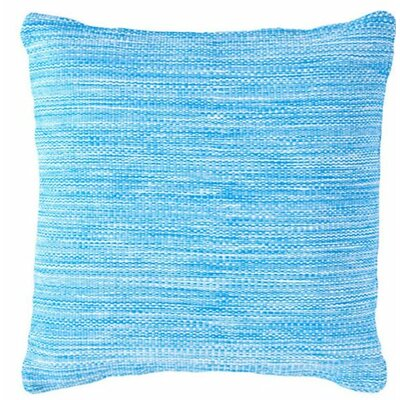 Mingled Outdoor Throw Pillow Color: Turquoise