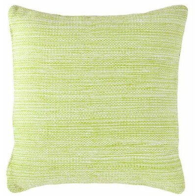 Mingled Indoor/Outdoor Throw Pillow Color: Apple - Green
