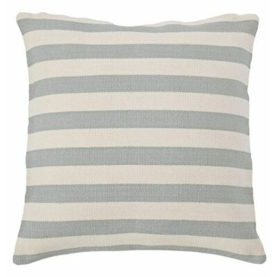 Trimaran Indoor/Outdoor Throw Pillow Color: Light Blue / Ivory