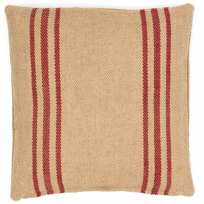 Lexington Indoor/Outdoor Throw Pillow Color: Red / Camel